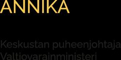 Annika Saarikko Logo
